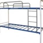 Кровать металлическая (двухъярусная)