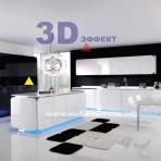 Эксклюзивные кухни 3D эффект. Неприлично ДОРОГО !